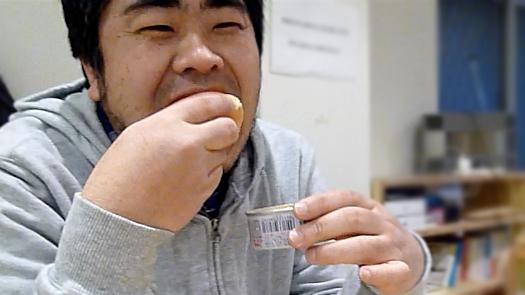 笑顔の加藤洋さん