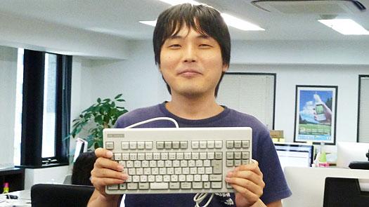 三宅さんのキーボード