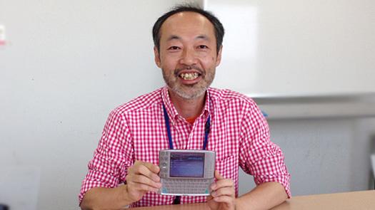 伊藤浩一さんとW-ZERO3