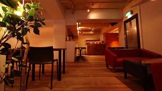 2011年2月に仲間と出したカフェ