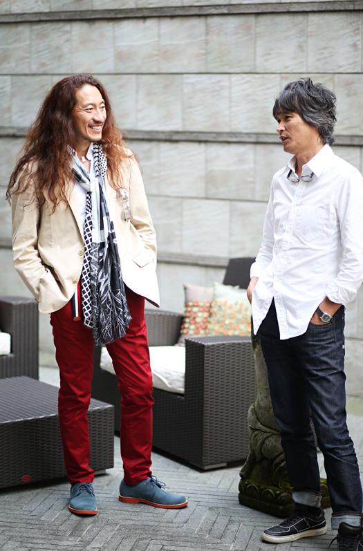 談笑する澤さんと尾崎さん